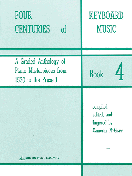 Four Centuries Of Keyboard Music Book 4