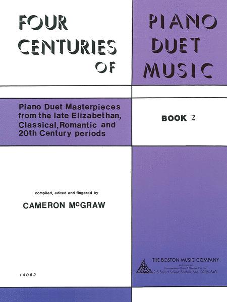 4 Centuries of Piano Duet Music