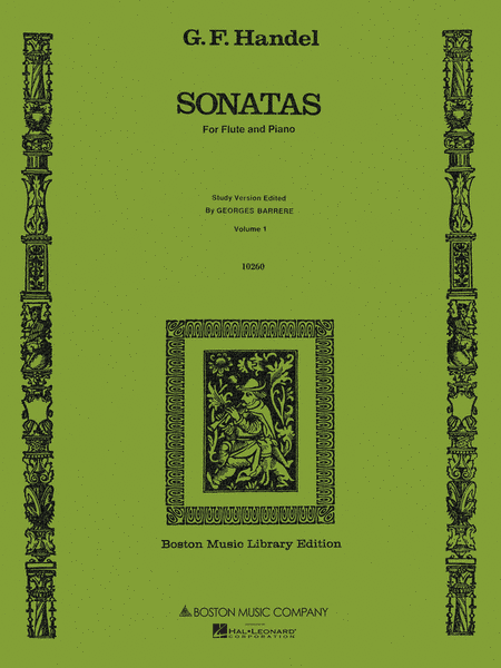 Sonatas for Flute and Piano, Volume 1