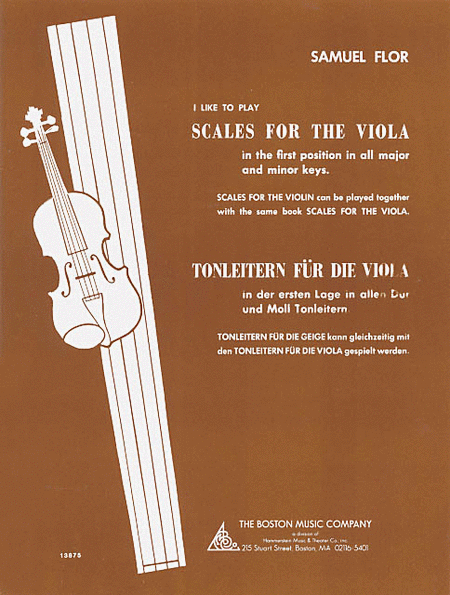 I Like to Play Scales for the Viola