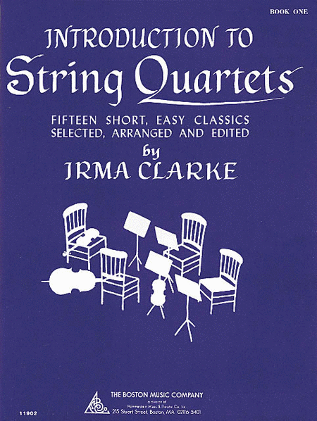 Intro to String Quartets Book 1