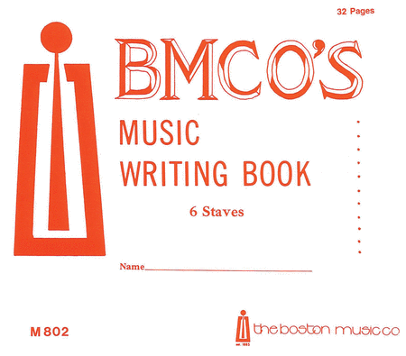 Music Writing Book 6 Stave 32 P.