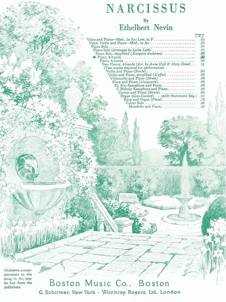 Narcissus Op.13 No. 4
