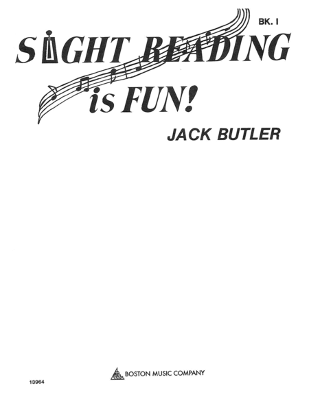 Sight Reading Is Fun Book 1
