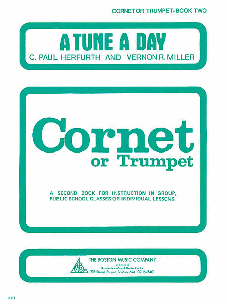 A Tune a Day - Cornet or Trumpet