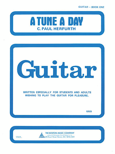 A Tune a Day - Guitar