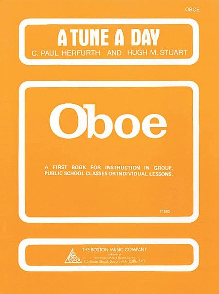 A Tune a Day - Oboe