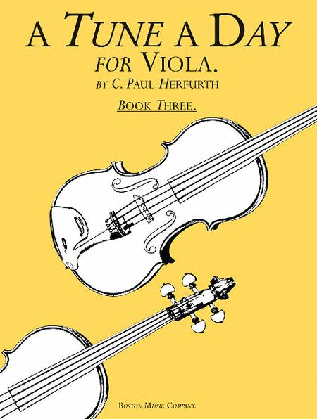 A Tune a Day - Viola
