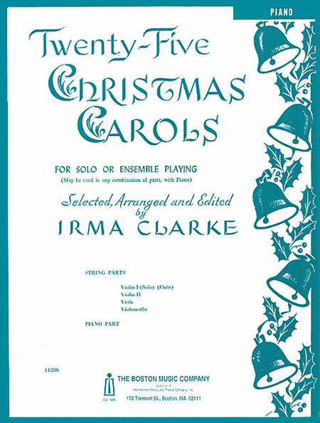 Twenty-Five Christmas Carols - Piano Accompaniment
