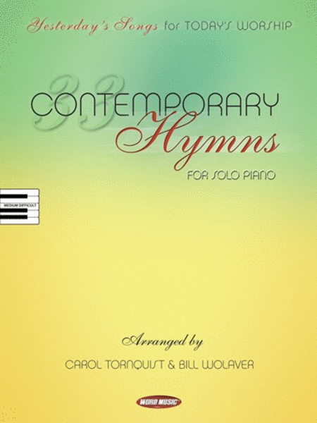 33 Contemporary Hymns - Piano Solo