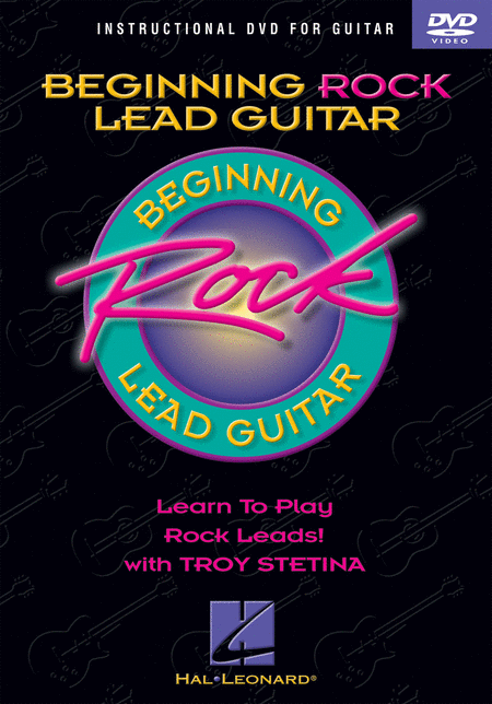 Beginning Rock Lead Guitar (DVD)