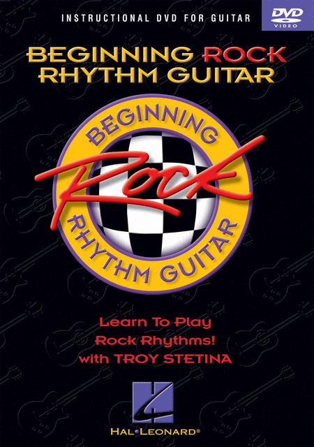 Beginning Rock Rhythm Guitar (DVD)