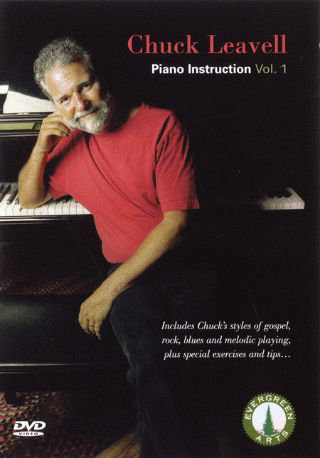 Chuck Leavell - Piano Instruction, Vol. 1