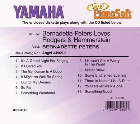 Bernadette Peters Loves Rodgers & Hammerstein - Piano Software