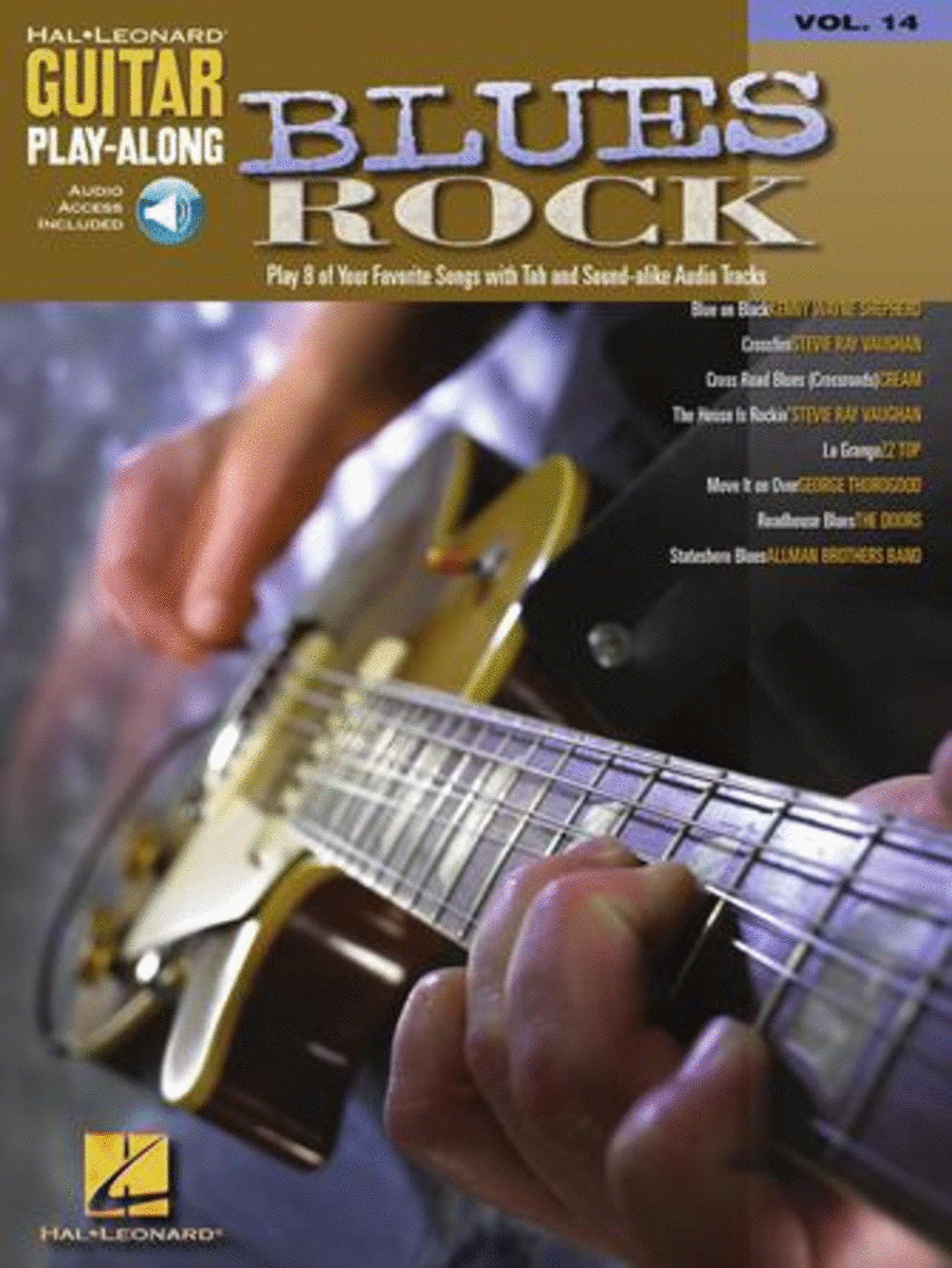 Blues Rock Guitar Play-Along - Volume 14