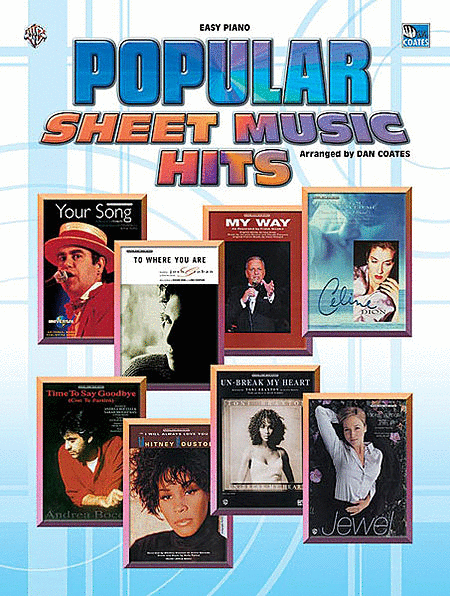 Popular Sheet Music Hits