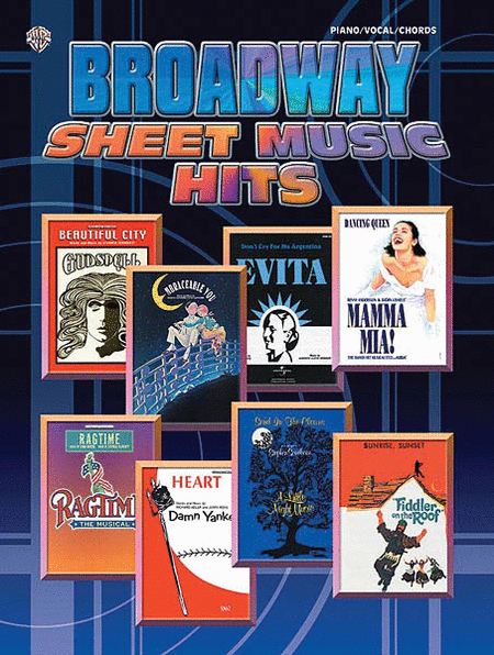 Broadway Sheet Music Hits