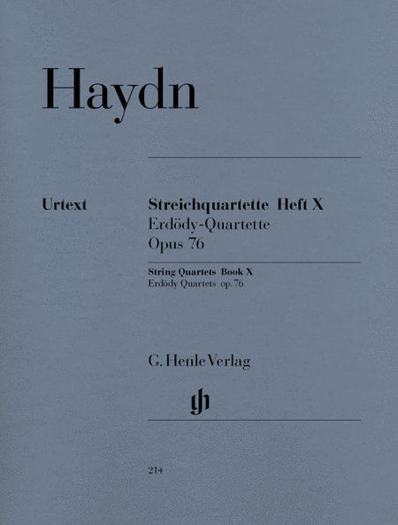 String Quartets - Volume X Op. 76