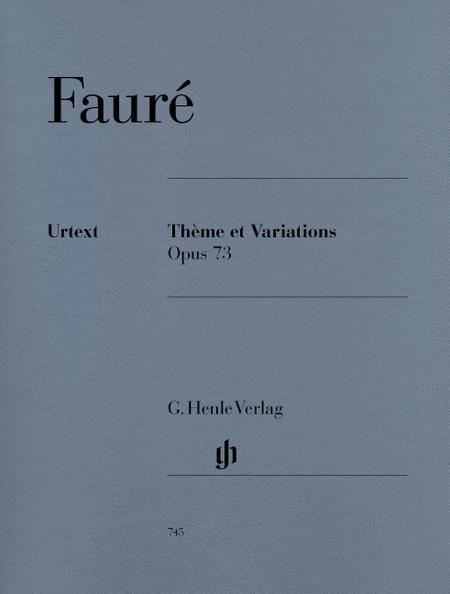 Theme et Variations, Op. 73