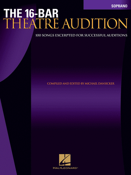 The 16-Bar Theatre Audition - Soprano