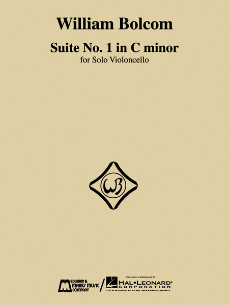 William Bolcom - Suite No. 1 in C Minor