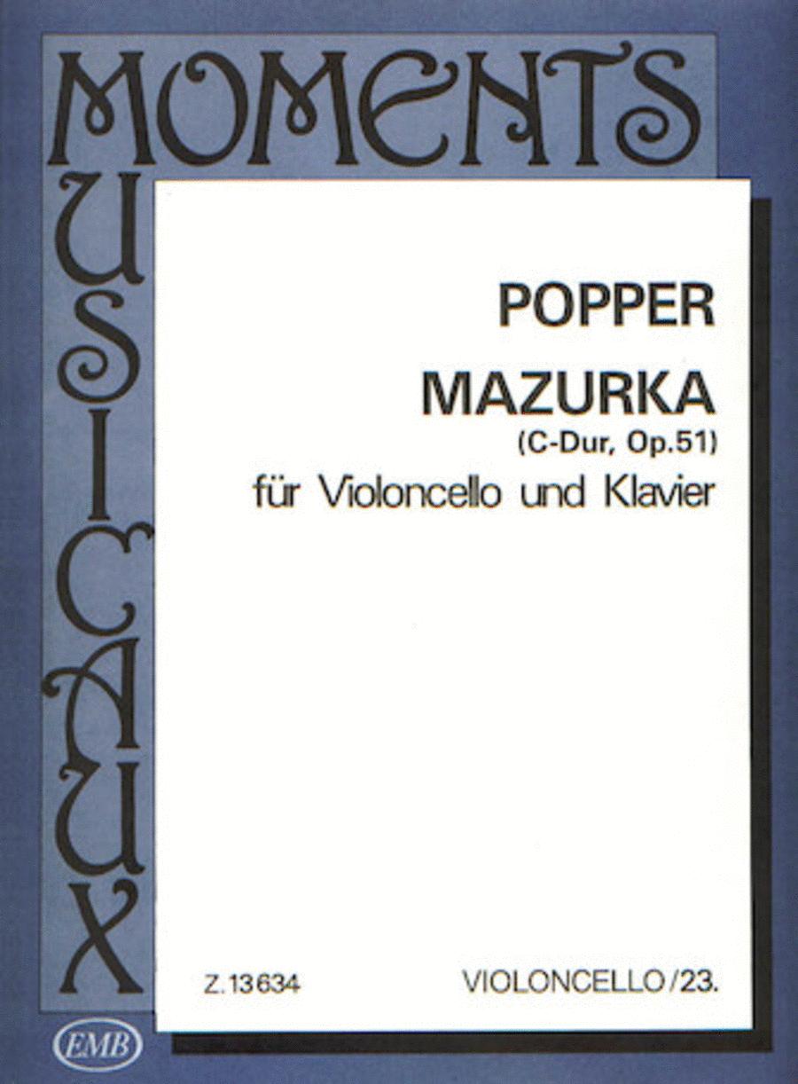 Mazurka in C, Op. 51