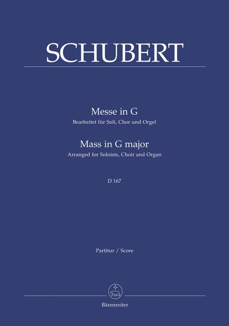 Missa G major D 167