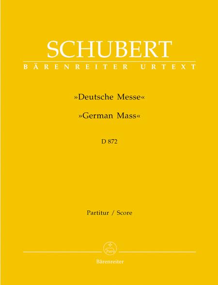 German Mass D 872