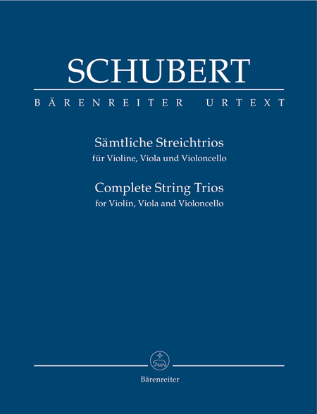 Samtliche Streichtrios for Violin, Viola and Violoncello