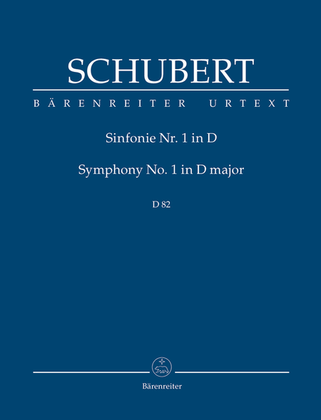 Symphony, No. 1 D major D 82