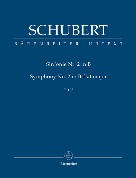 Symphony, No. 2 B flat major D 125