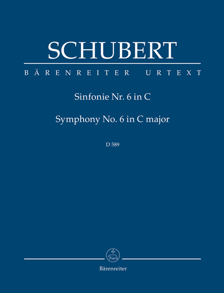 Symphony, No. 6 C major D 589