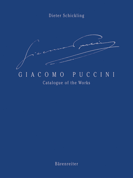 Giacomo Puccini - Catalogue of the Works