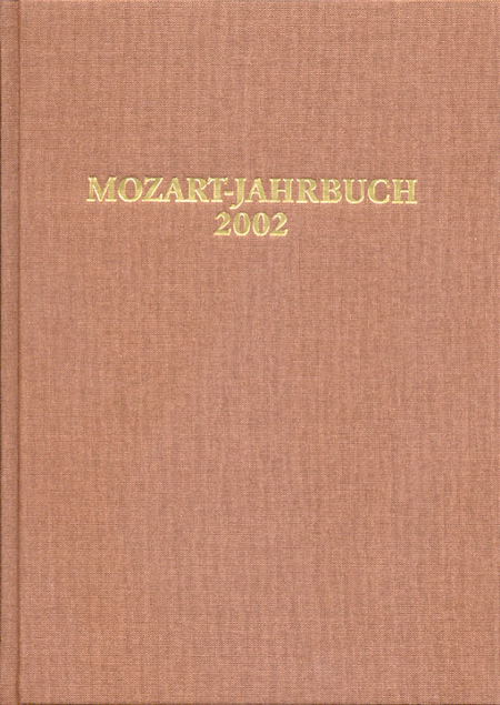 Mozart-Jahrbuch 2002