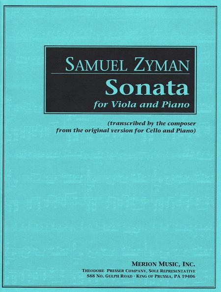 Sonata (Viola/Piano)