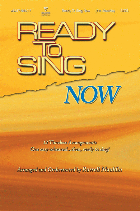 Ready To Sing Now (Choral Book)