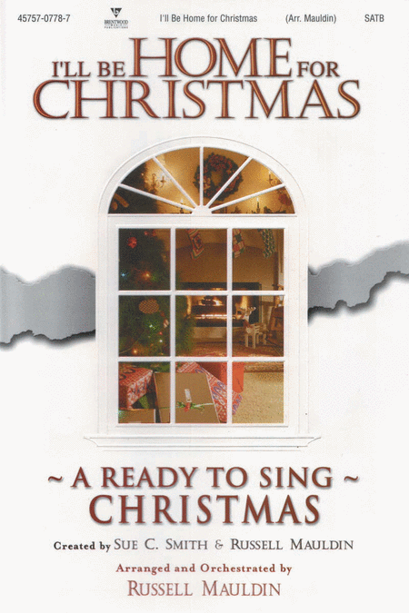 I'll Be Home For Christmas (Choral Book)
