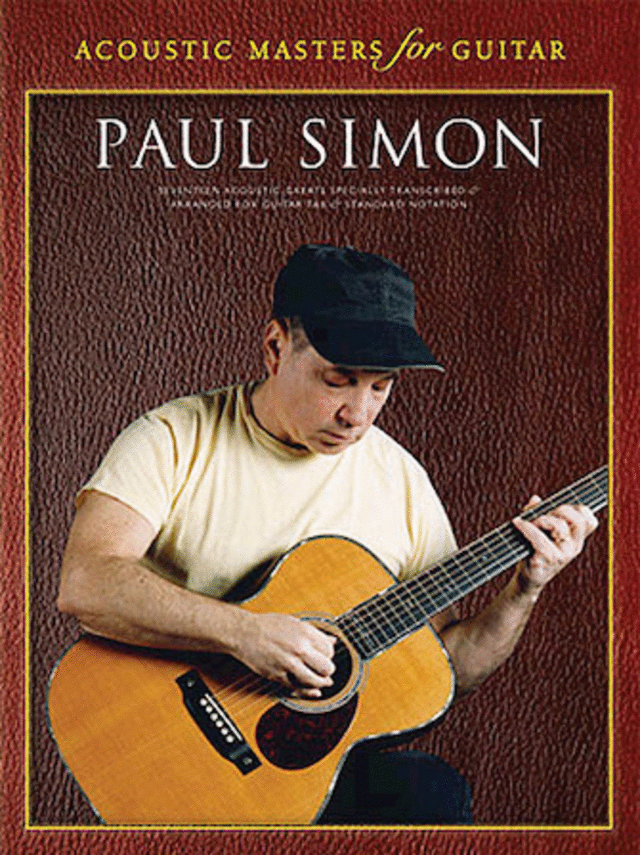 Paul Simon - Acoustic Masters for Guitar