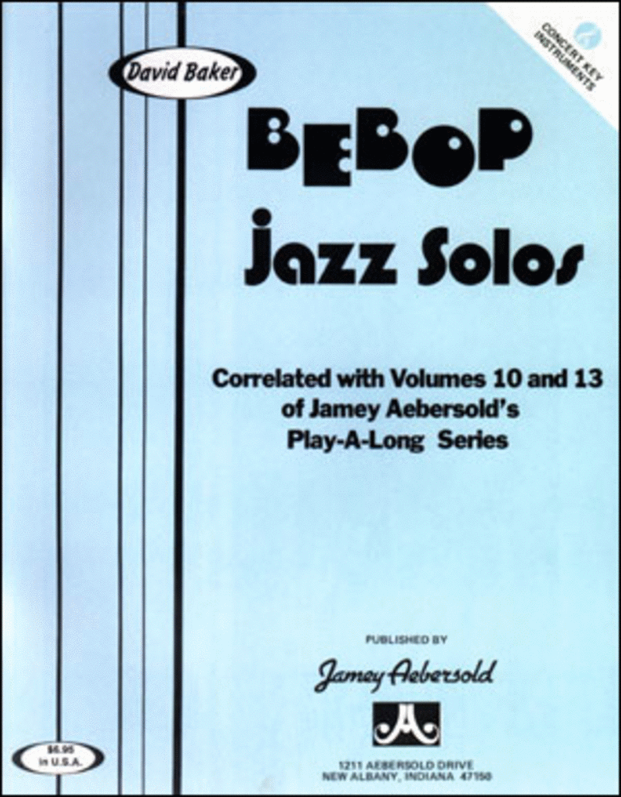 Bebop Jazz Solos - C Edition