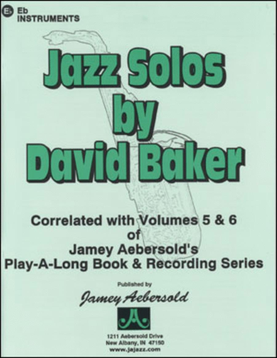 Jazz Solos - Eb Edition