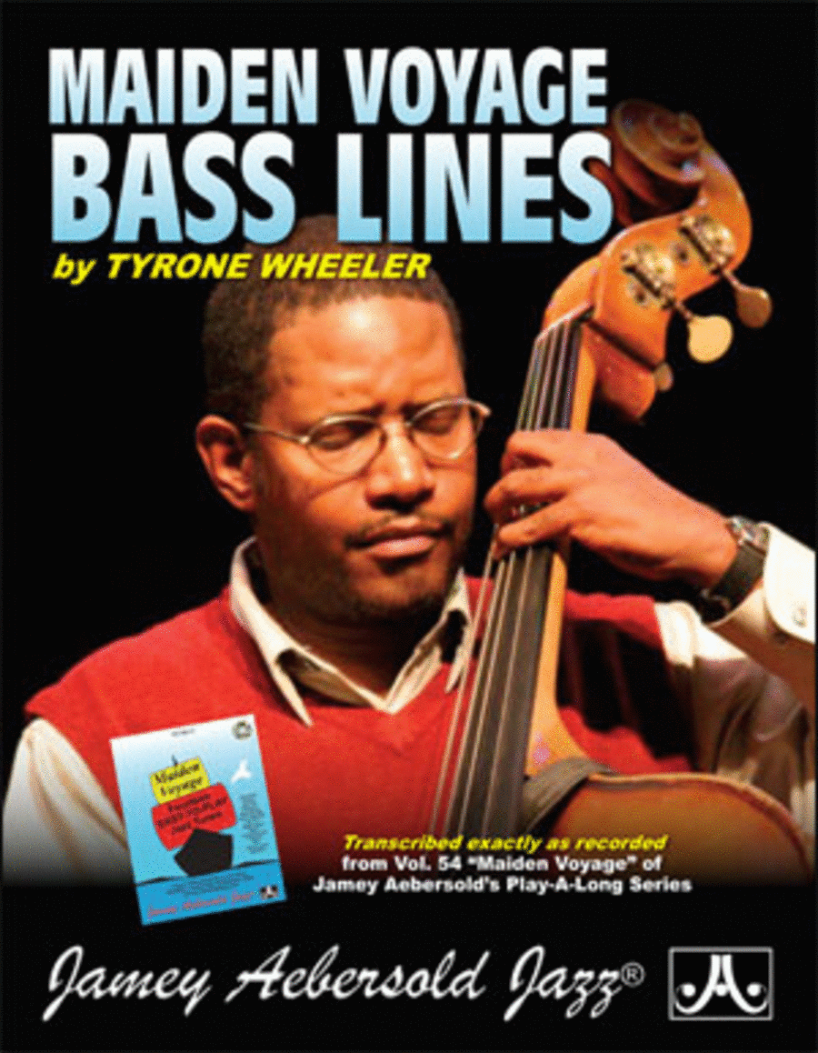 Tyrone Wheeler Bass Lines - Transcribed From Volume 54