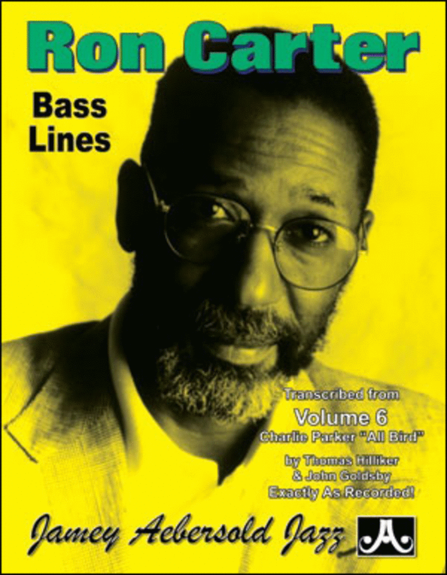 Ron Carter Bass Lines - Transcribed From Volume 6