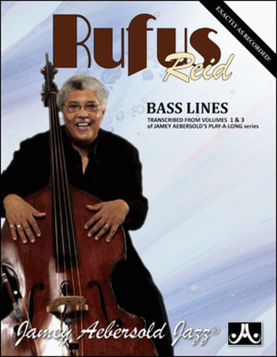 Rufus Reid Bass Lines - Transcribed From Volumes 1 & 3
