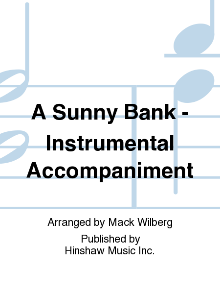 A Sunny Bank - Instrumental Accompaniment