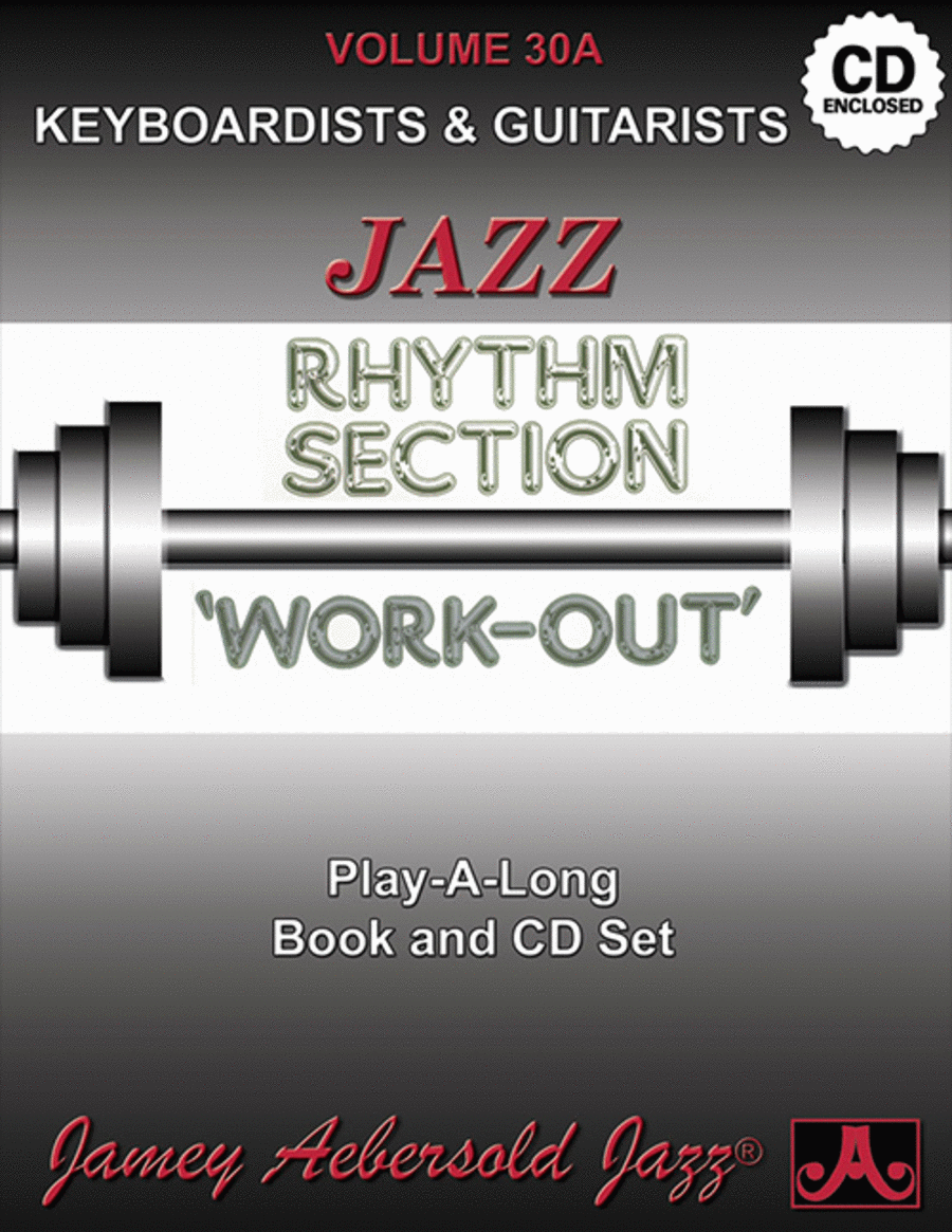 Volume 30A - Rhythm Section Workout - Keyboards & Guitar
