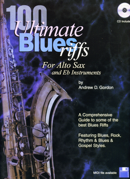100 Ultimate Blues Riffs for Eb instruments