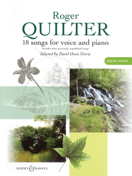 Roger Quilter - 18 Songs for Voice and Piano