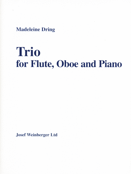 Trio for Flute, Oboe and Piano