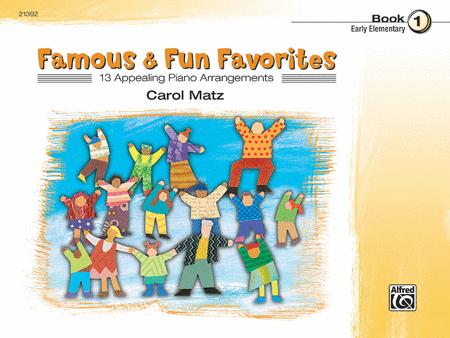 Famous & Fun Favorites - Book 1