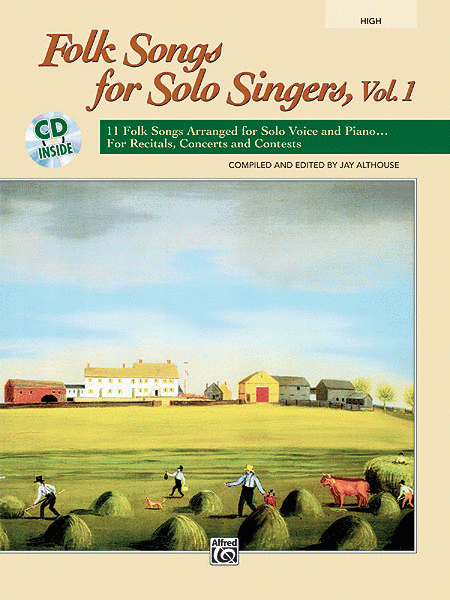 Folk Songs for Solo Singers, Volume 1